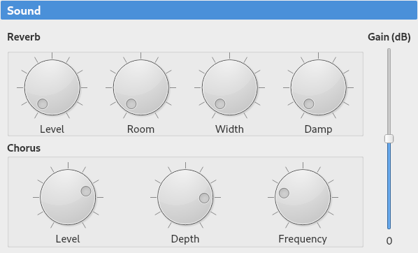 Settings - Polyphone Soundfont Editor