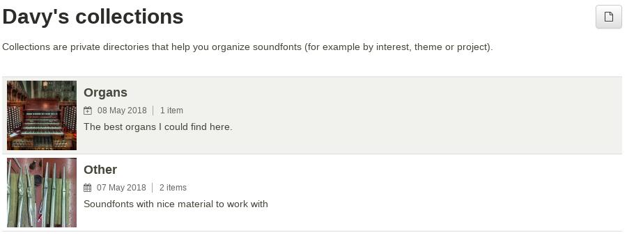 Soundfont upload - Polyphone Soundfont Editor